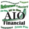 Cover image of AIO Financial Podcast | Investing, Taxes, Retirement Planning, Insurance, Estate Planning