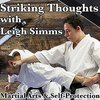 Cover image of The Striking Thoughts Podcast on Karate, Martial Art Philosophy & Self-Defence