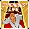Cover image of The Strenuous Life Podcast with Stephan Kesting / Grapplearts Radio