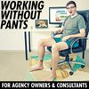 Cover image of Working Without Pants - For Agency Owners & Consultants