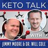 Cover image of Keto Talk With Jimmy Moore & Dr. Will Cole
