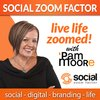 Cover image of Social Media Zoom Factor with Pam Moore | Social Media Marketing | Branding |Business | Entrepreneur | Small Business | Digital Marketing | Content Marketing | Startup | Social Selling | Influencer