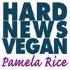 Cover image of Hard News Vegan
