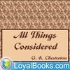 Cover image of All Things Considered by G. K. Chesterton