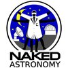 Cover image of Naked Astronomy, from the Naked Scientists