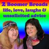 Cover image of 2 Boomer Broads Podcast