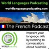 Cover image of French Podcast - Improve your French language skills by listening to conversations about Australian culture