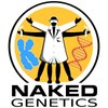 Cover image of Naked Genetics, from the Naked Scientists