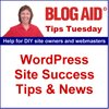 Cover image of BlogAid WordPress Tips Tuesday