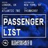 Cover image of Passenger List