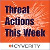 Cover image of Cyber Security Threat Actions This Week