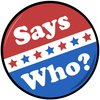 Cover image of Says Who?