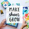 Cover image of Make Share Grow: Art, Craft and the Creative Process
