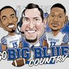 Cover image of Go Big Blue Country Football Podcast