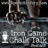 Cover image of Iron Game Chalk Talk with Ron McKeefery