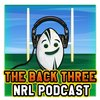 Cover image of The Back Three Podcast