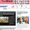Cover image of The #Brexit Daily - Latest stories on making Britain great again